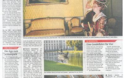 Abendzeitung – Mit der Gondel zum Schloss