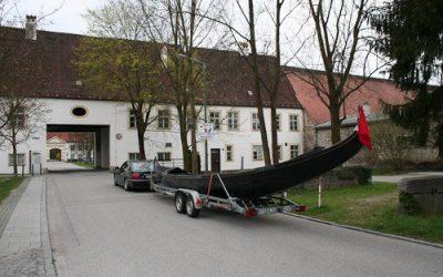 Ankunft in Schleißheim
