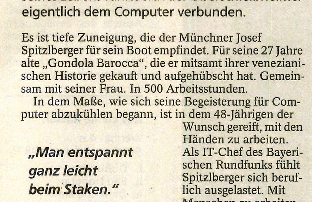 Münchner Merkur – Mensch des Tages