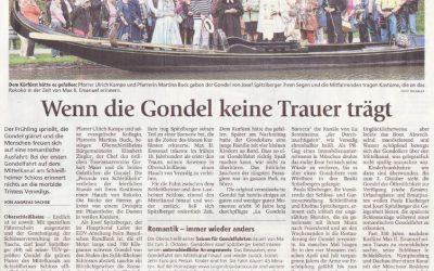 Münchner Merkur – Wenn die Gondel keine Trauer trägt