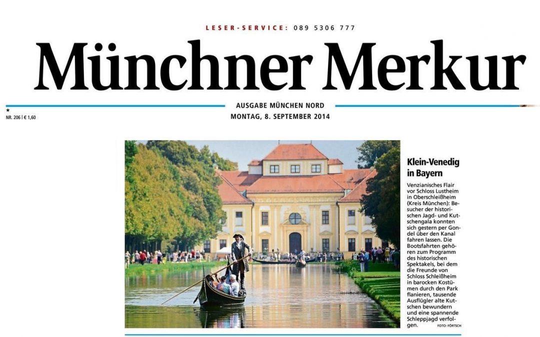 Münchner Merkur – Klein Venedig in Bayern