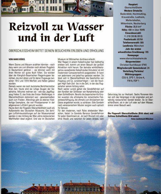 Münchner Merkur – Reizvoll zu Wasser und zu Luft