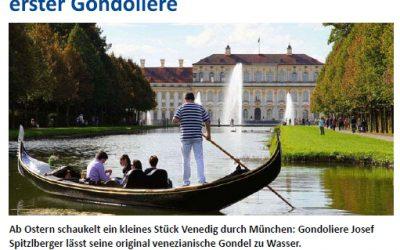 Radio Arabella: Interview mit dem Gondoliere von Schleißheim