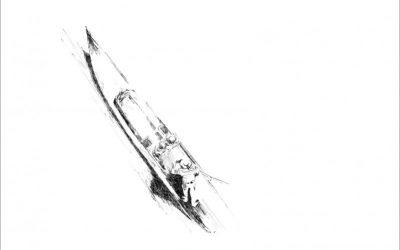 Zeichnung Schleißheimer Gondel