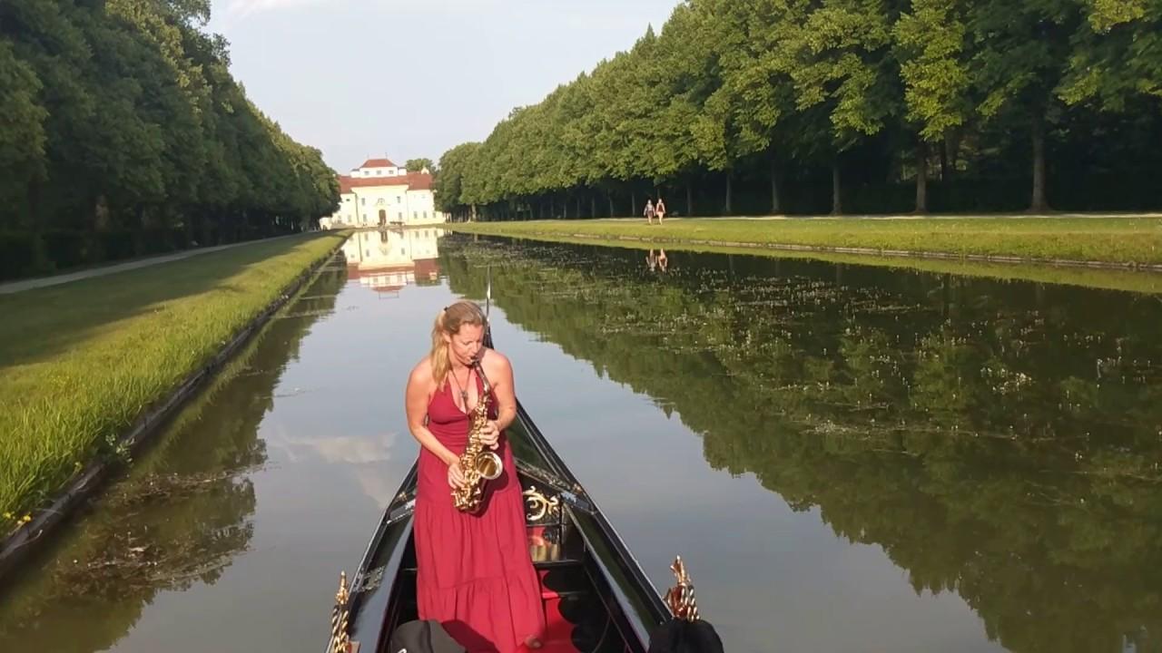 La Gondola Barocca - SaxoCat - Saxophon auf der Gondel