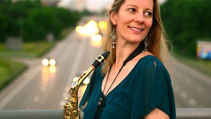 SaxoCat Susy Rizzo live auf unserer Gondel
