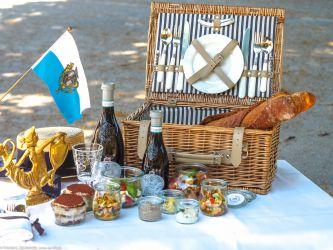 Italienisches Picknick