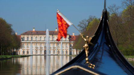 Reminiszenz an Venedig in der Schlossanlage Schleißheim