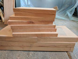 Gondelstühle - Buchenholz zugeschnitten