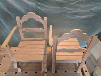 Gondelstühle - so, fertig